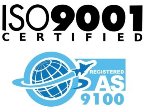 AS9100 & ISO9001:2008 Certified!